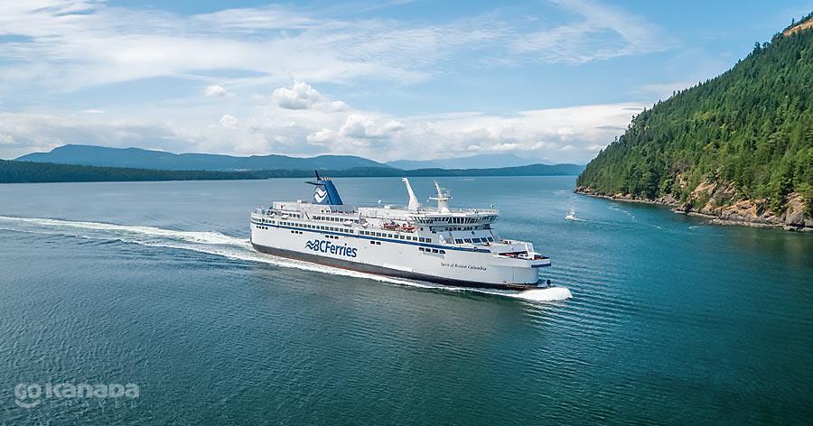Ferry British Columbia Canada