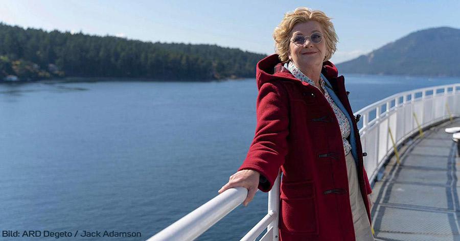 Henni auf dem weg nach Vancouver Island