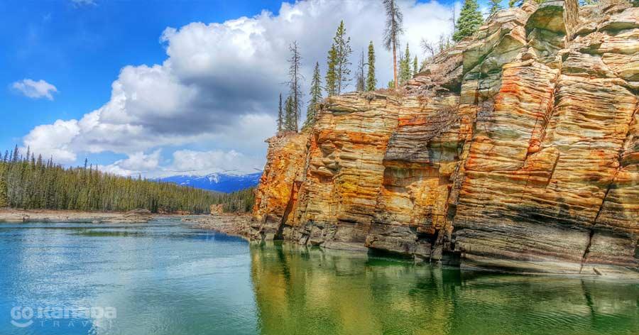 Athabasca River Jasper National Park Alberta Kanada