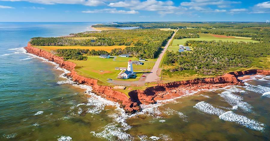 East Point Lighthouse, Prince Edward Island, Canada