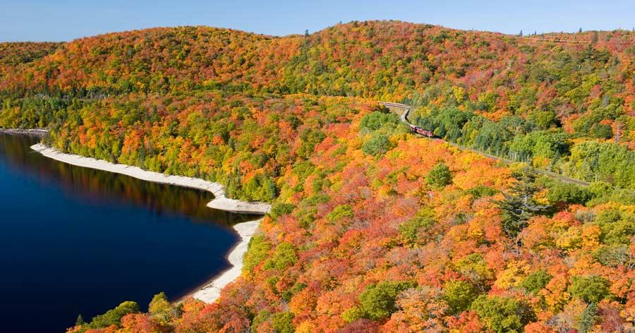 Fall colours Ontario Kanada