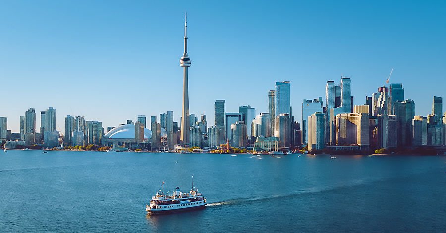 Toronto Skyline Ontario Canada