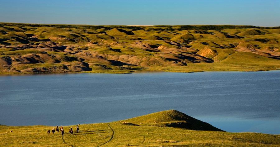 South Saskatchewan river, Kanada
