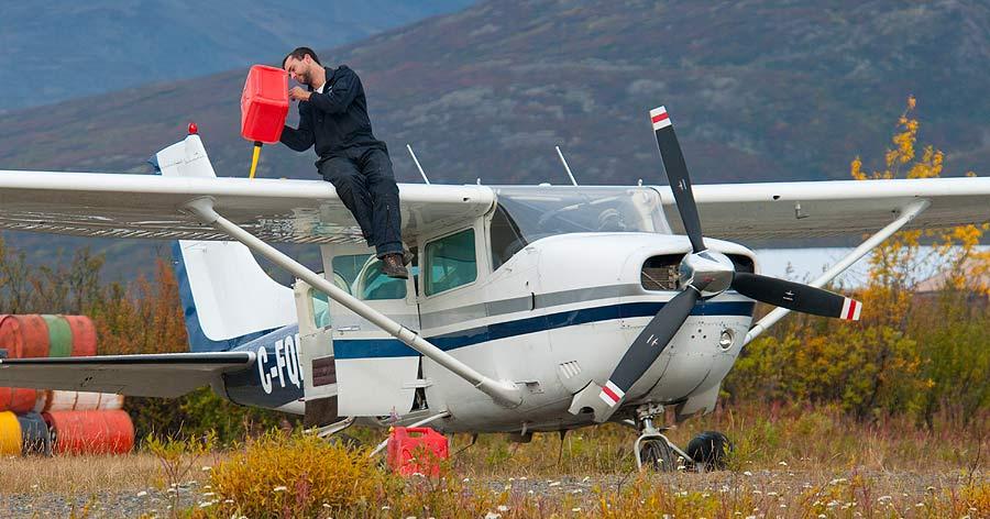 Airplane, Mackenzie Mountains, Sahtu, NWT