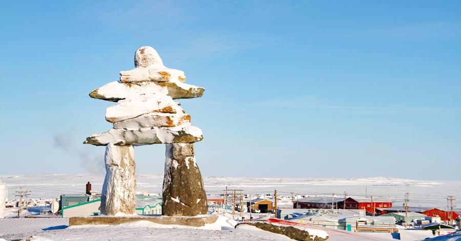 Inuksuk Rankin Inlet Nunavut