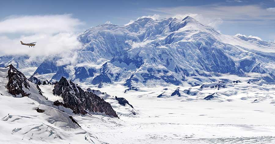 Mt Logan, Kluane National Park, Yukon