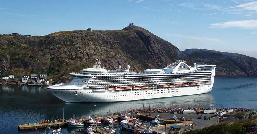 Princess Cruise ship St John's